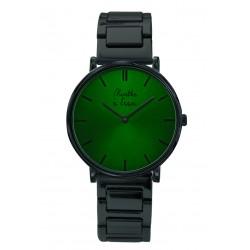 L'Intemporelle noire fond vert